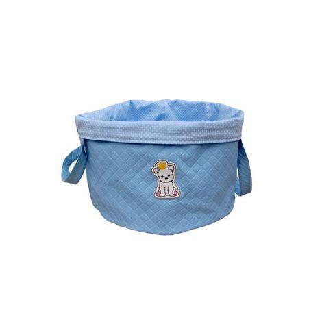 Bag Brinquedo Azul bebe Sintetica