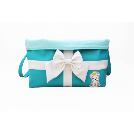 Bag Brinquedo Laço Tiffany Sintetica