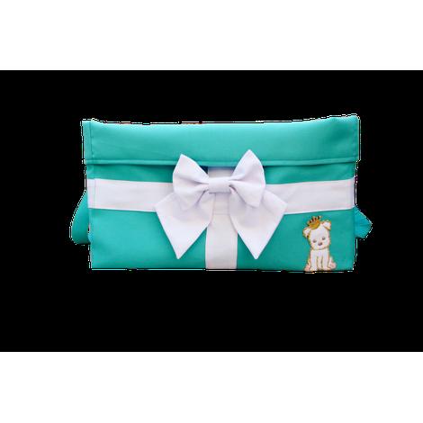 Bag Brinquedo Laço Tiffany Tecido