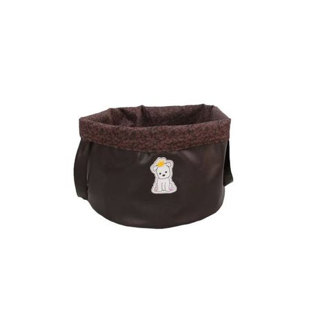 Bag Brinquedo Marrom Sintetica