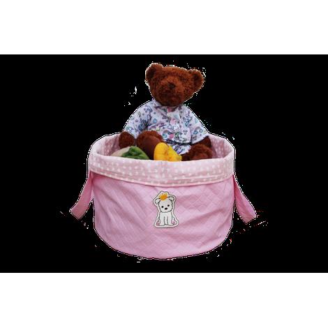 Bag Brinquedo Rosa Bebe Sintetica