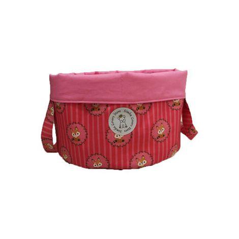 Bag de Brinquedos Raposa Pink