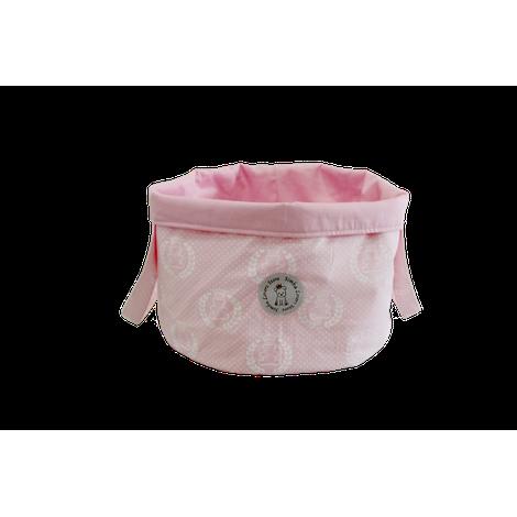 Bag de Brinquedos Ursinho Rosa