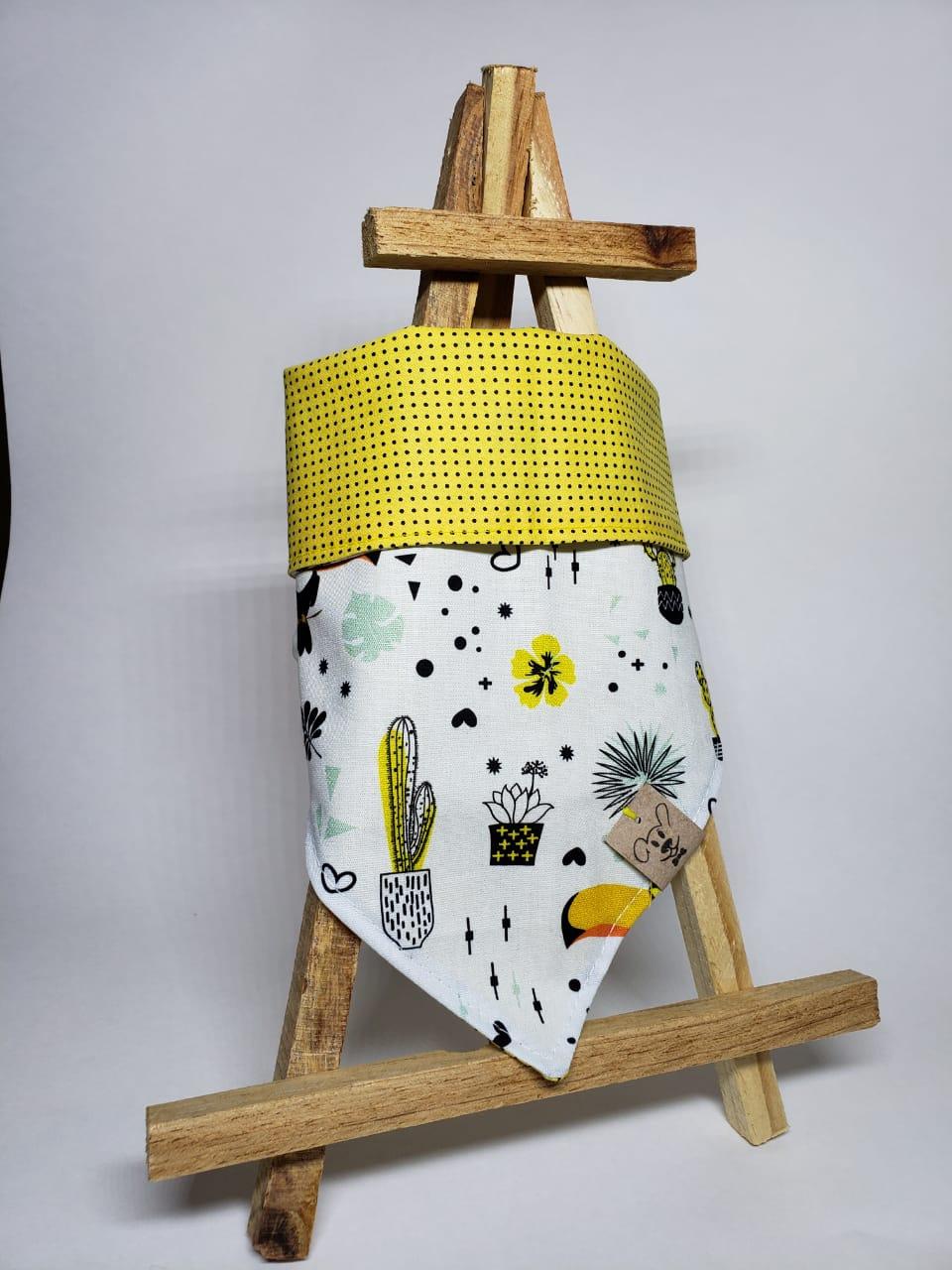 Bandana Cacto Amarelo