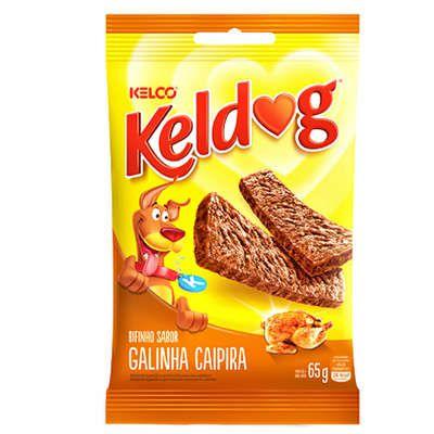 Bifinho Kelco Keldog Galinha Caipira - 65 g