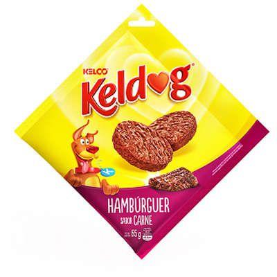 Bifinho Kelco Keldog Hambúrguer Sabor Carne - 65 g