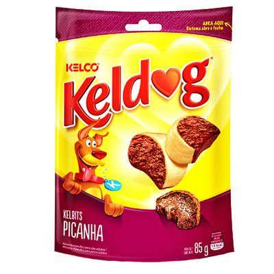 Bifinho Kelco Keldog Kelbits Picanha - 85 g  - Shoppinho Animal