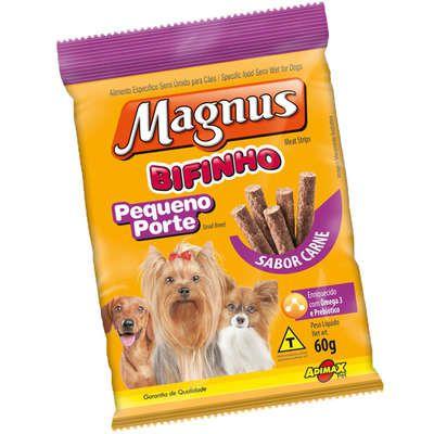 Bifinho Magnus Carne para Cães de Pequeno Porte