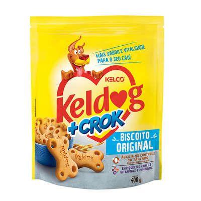Biscoito Keldog +Crok Original