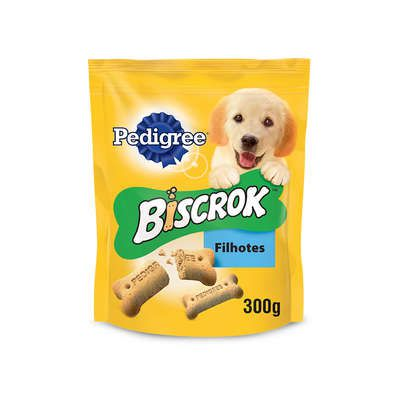 Biscoito Pedigree Biscrok Júnior para Filhotes