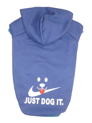 BLUSA DE MOLETOM JUST DOG BLUE