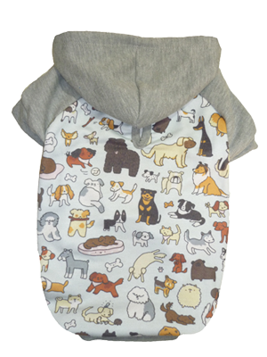 BLUSA DE MOLETOM DOGS  - Shoppinho Animal