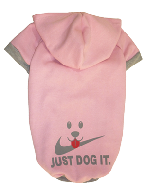 BLUSA DE MOLETOM JUST DOG ROSA
