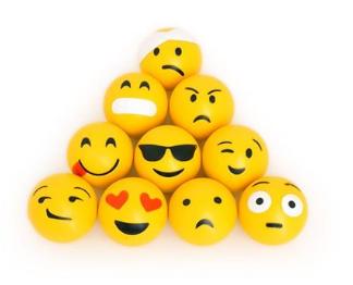 Brinquedo Bola Emoji