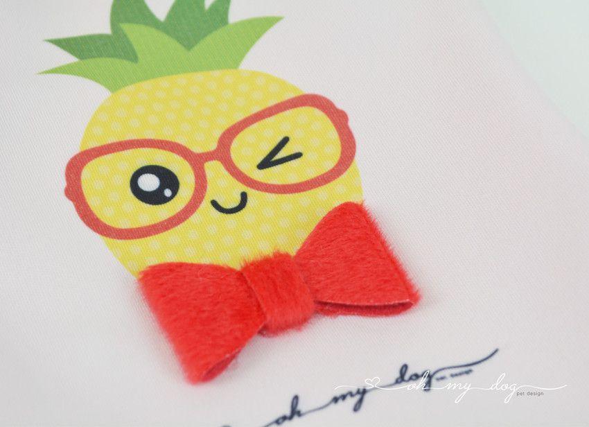 Camiseta Abacaxi Óculos