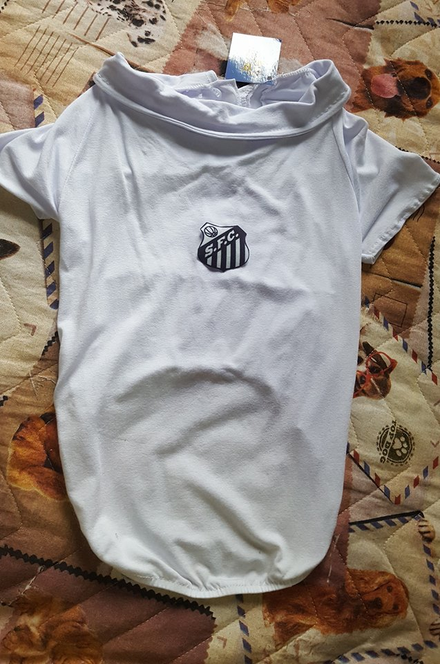 CAMISETA SANTOS  - Shoppinho Animal