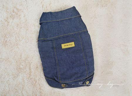 Casaco jeans forrado