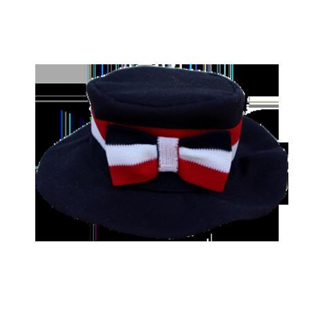 Chapéu fita marinho Fêmea