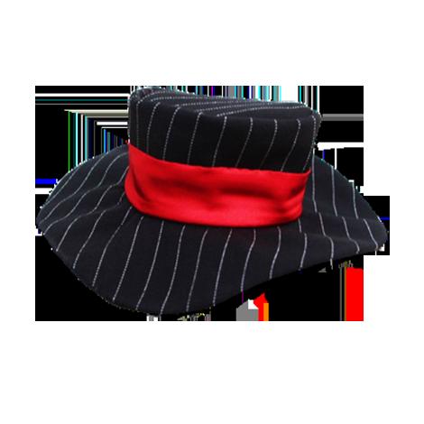 Chapéu risca de giz
