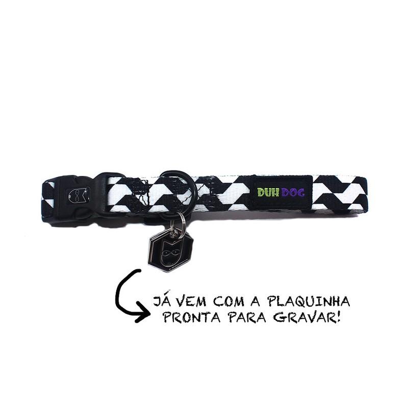 Coleira + Guia SP Lover - DUH DOG