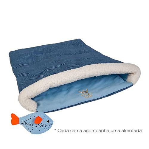 CÓPIA - CAMA CAT BAG AZUL