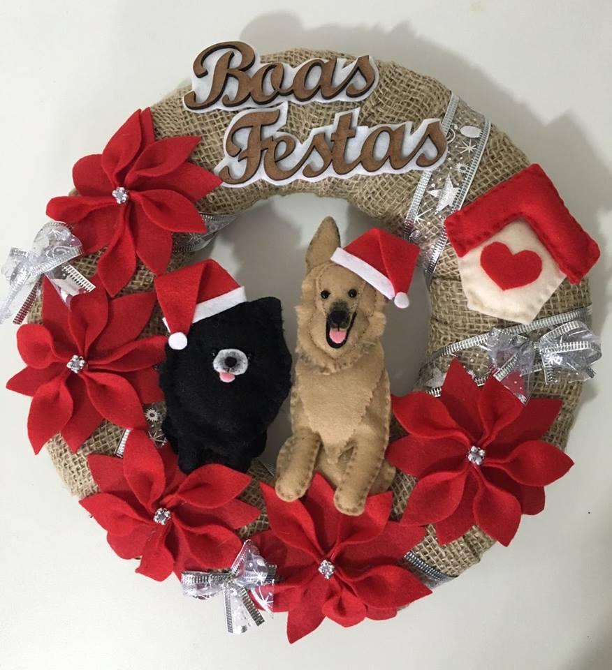 Guirlanda De Natal Shoppinho Animal Roupas E Acessóros