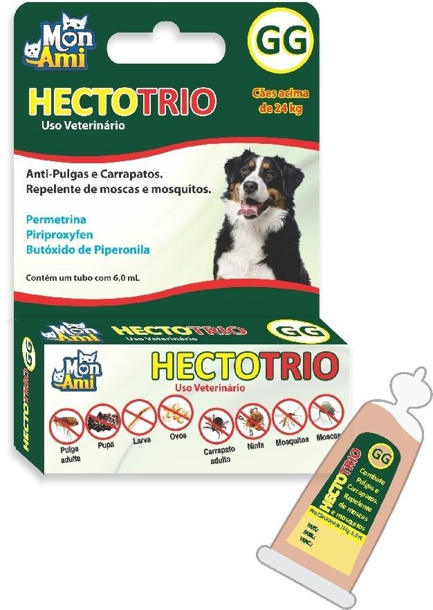 Hectotrio Gg - Antipulgas, Carrapato E Moscas - Mais De 24kg