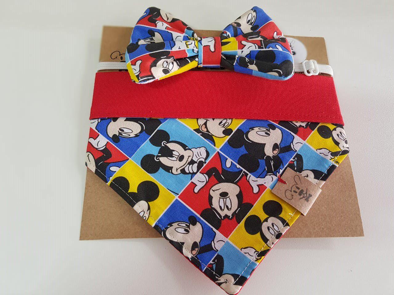 Kit bandana Mickey