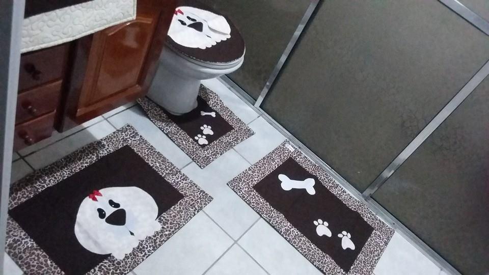 Kit de Banheiro- Cachorro