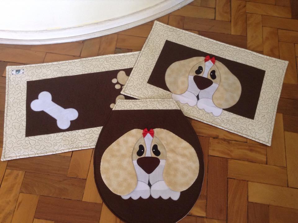 Kit de Banheiro- Cachorro  - Shoppinho Animal