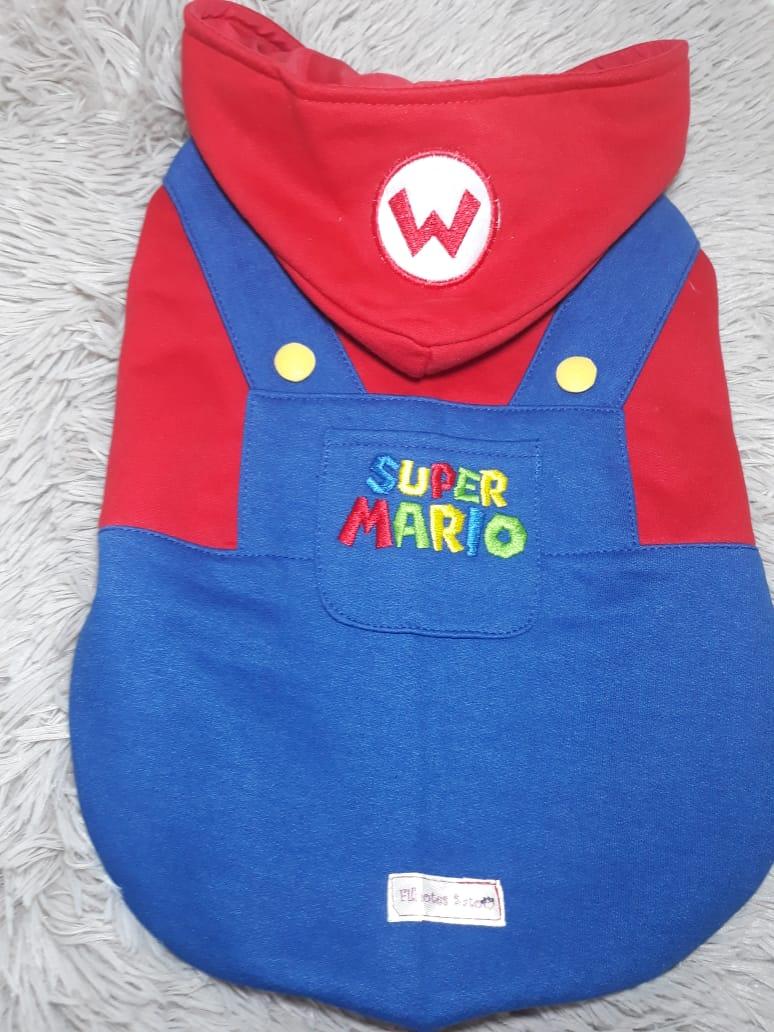 Moletom Mario Bross