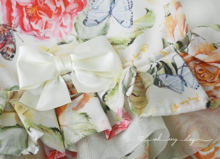 Peitoral Floral Cristal