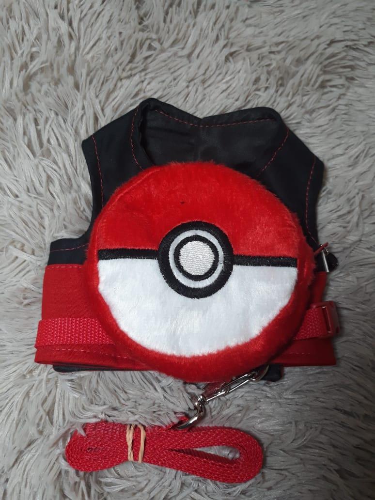 Peitoral Mochila Pokebola (Pokemon)