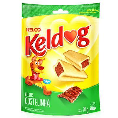 Petisco Kelco Keldog Kelbits Costelinha - 70 g