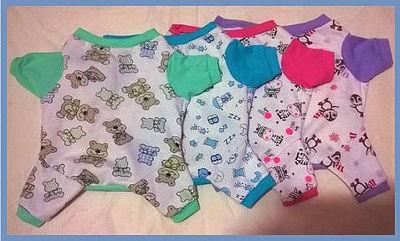 Pijama Macacão (Macho e Fêmea)