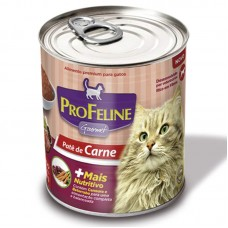 PROFELINE LATA CARNE 280 GR  - Shoppinho Animal