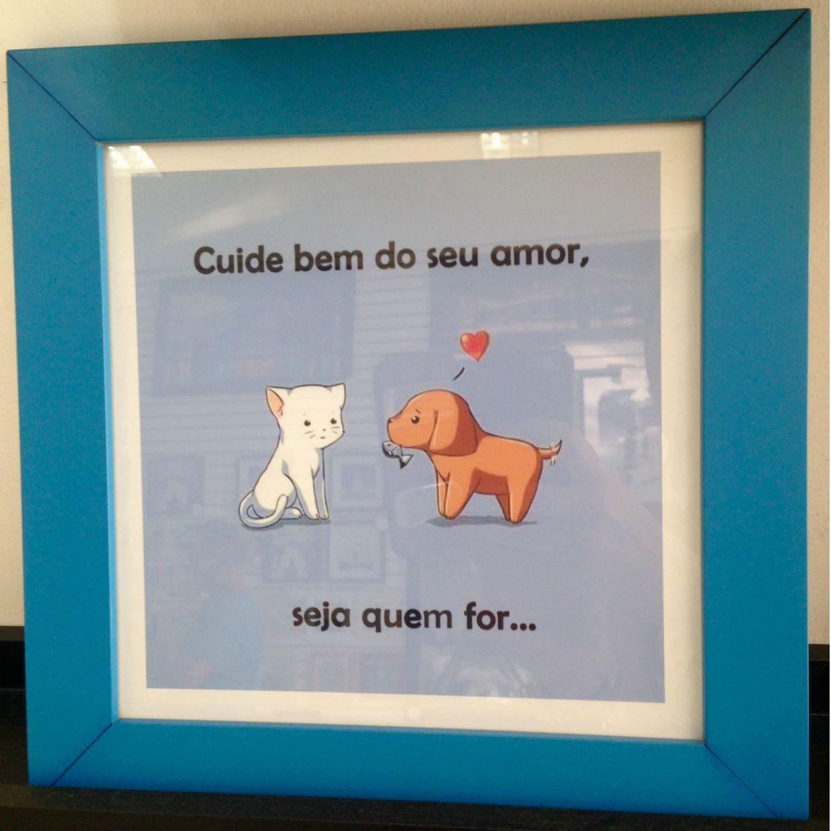 QUADRO: SE NADA DER CERTO...  - Shoppinho Animal