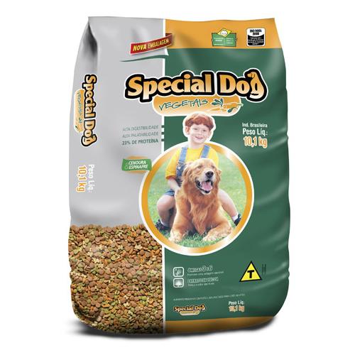Ração Special Dog Premium Vegetais Cenoura e Espinafre para Cães-1KG