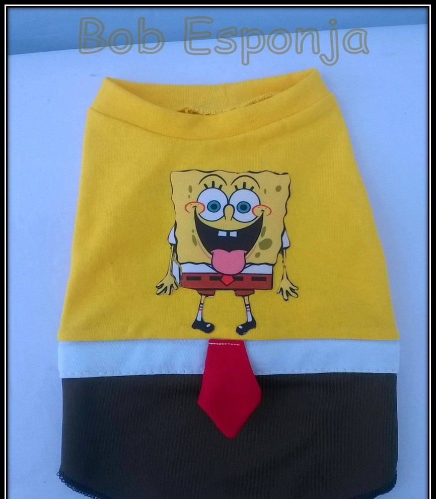 ROUPA BOB ESPONJA (FANTASIA)  - Shoppinho Animal
