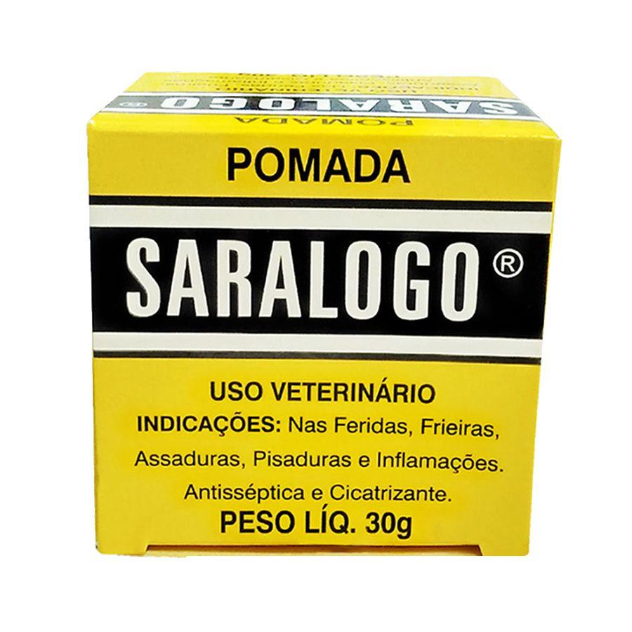 Saralogo Pomada Cicatrizante 30g Matacura
