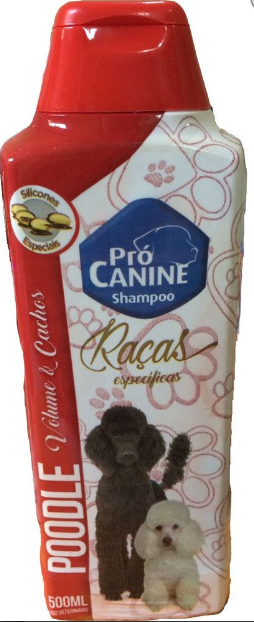 SHAMPOO PROCANINE POODLE 500ML  - Shoppinho Animal