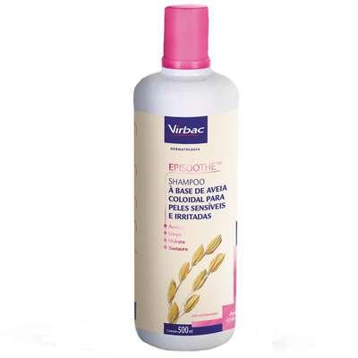 Shampoo Virbac Episoothe para Peles Sensíveis e Irritadas 250ml