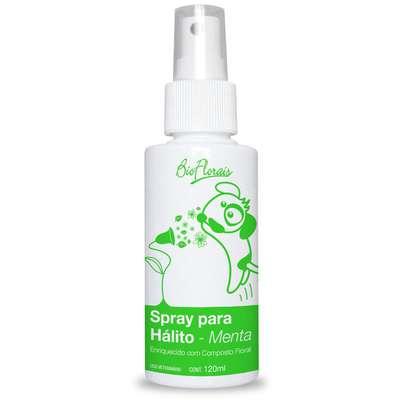 Spray para hálito Bio Florais Pet - 120 mL
