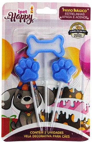 Vela Happy para Cães