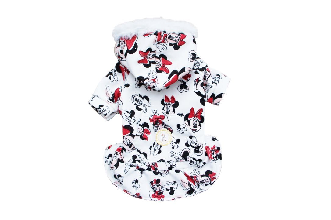 VESTIDO DE MOLETOM MINNIE   - Shoppinho Animal