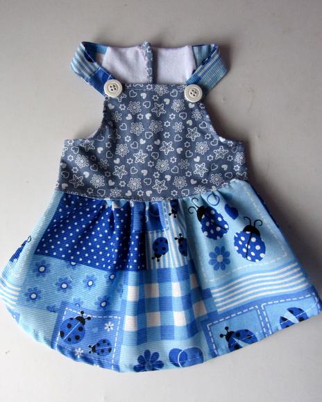 Vestido Foffy Azul