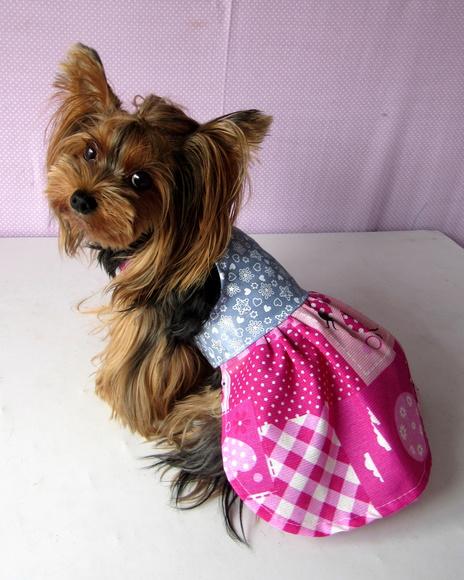Vestido Foffy Rosa  - Shoppinho Animal