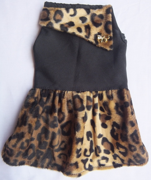 Vestido Glamour  - Shoppinho Animal