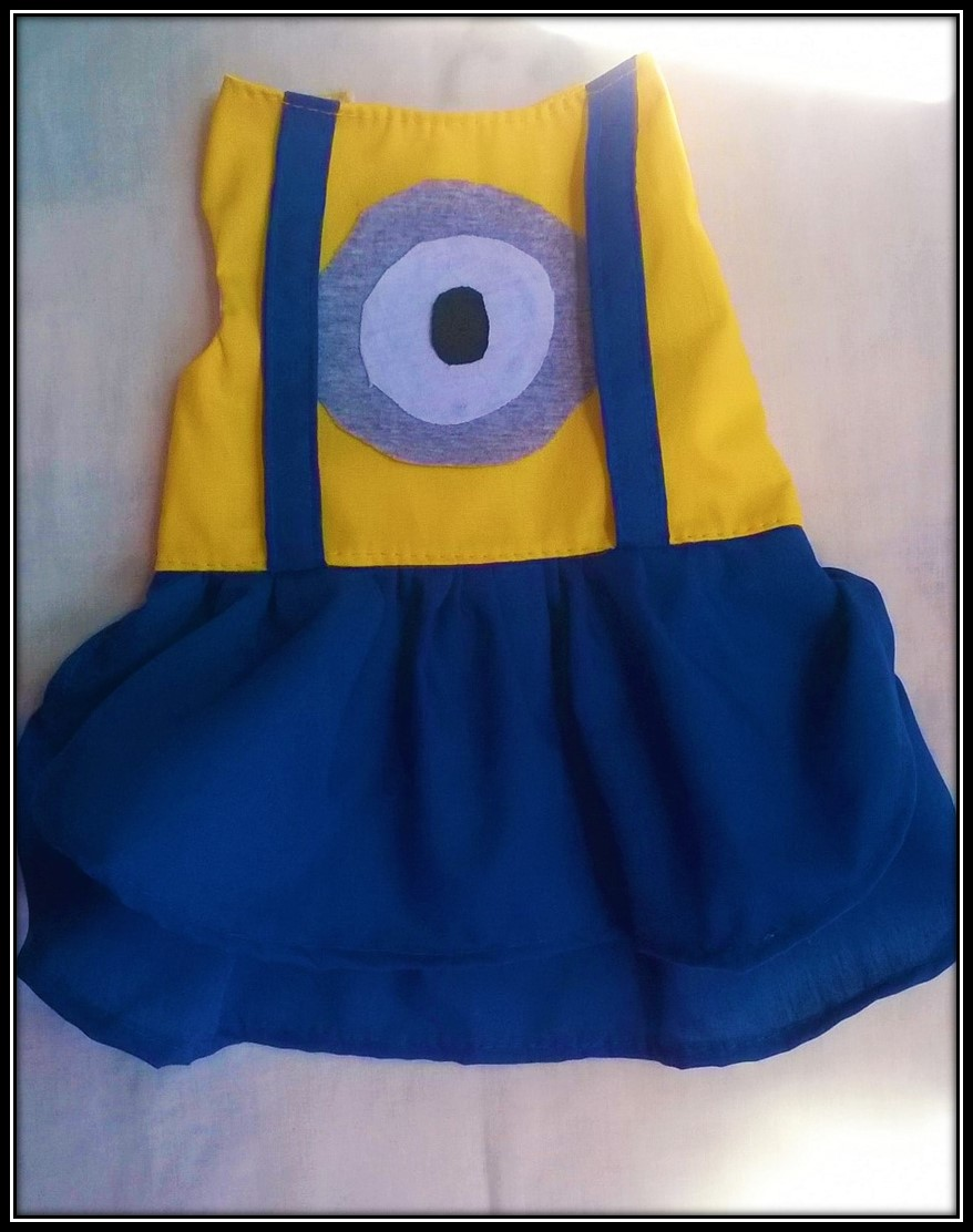 VESTIDO MINIONS (FANTASIA)  - Shoppinho Animal