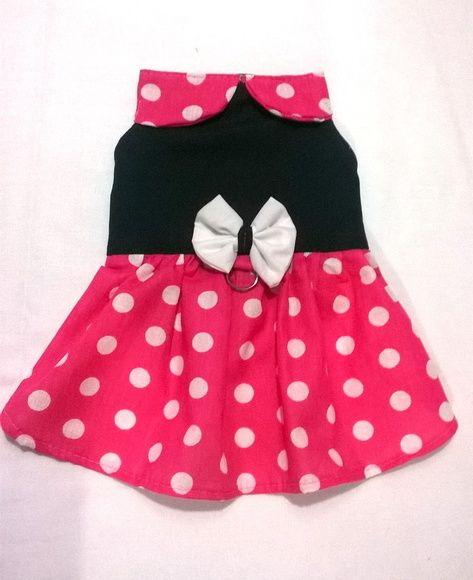 Vestido Minnie- Rosa